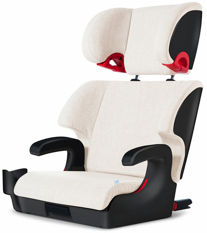 Clek Oobr 2021 High Back Belt Positioning Booster Car Seat - Marshamallow (C-Zero Plus)