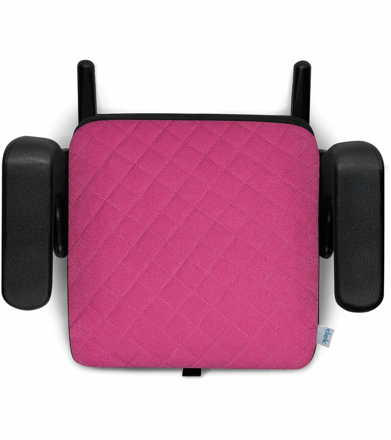 Clek Olli Backless High Back Belt Positioning Booster Car Seat - Flamingo X