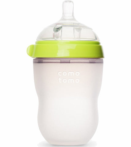 Comotomo Silicone Bottle 8oz- Green