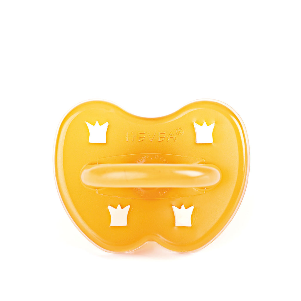 HEVEA Natural Rubber Crown Pacifier