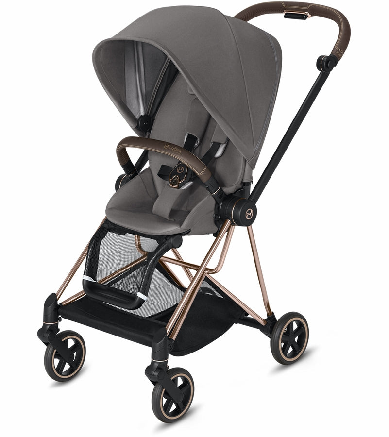 Cybex Mios 2 Complete Stroller - Rose Gold/Manhattan Grey