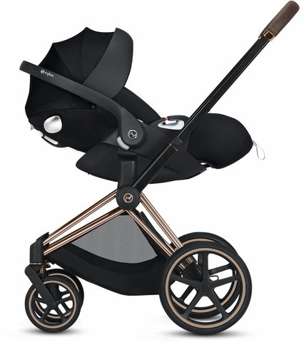 Cybex Priam Complete Stroller - Chrome/Brown/Manhattan Grey