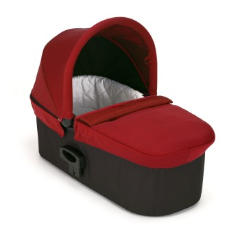 Baby Jogger Deluxe Pram-Red - Traveling Tikes