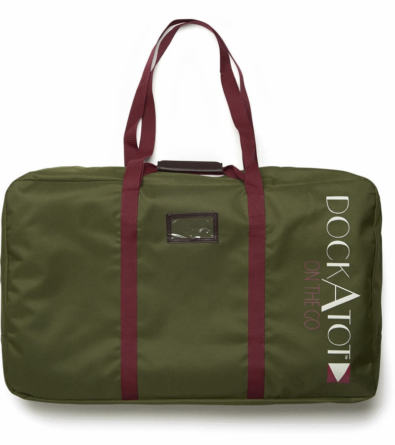 DockATot On the Go Deluxe Transport Bag - Moss Green