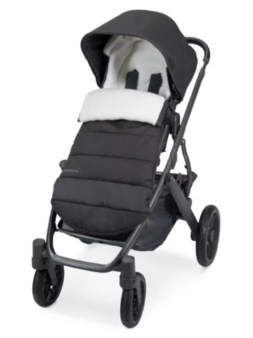 UPPAbaby Cozy Ganoosh Footmuff - Jake (Black/Chevron Quilt)