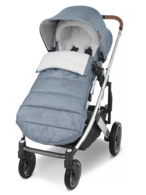 UPPAbaby Cozy Ganoosh Footmuff - Gregory (Blue Melange)