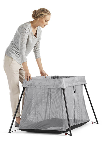 Baby Bjorn Travel Crib Light - Great Blue - Traveling Tikes