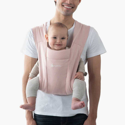 Ergobaby Embrace Cozy Newborn Carrier Blush Pink