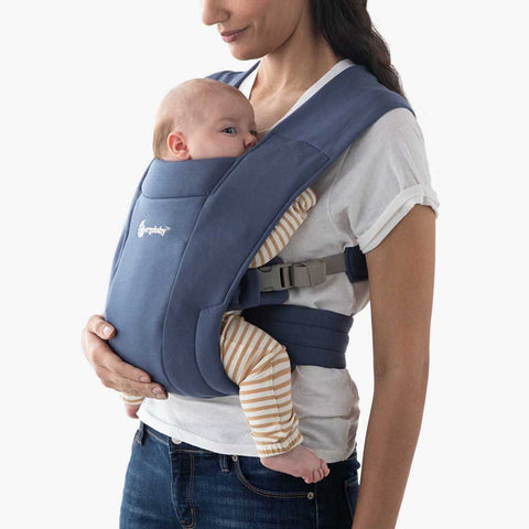 Ergobaby Embrace Cozy Newborn Carrier Soft Navy