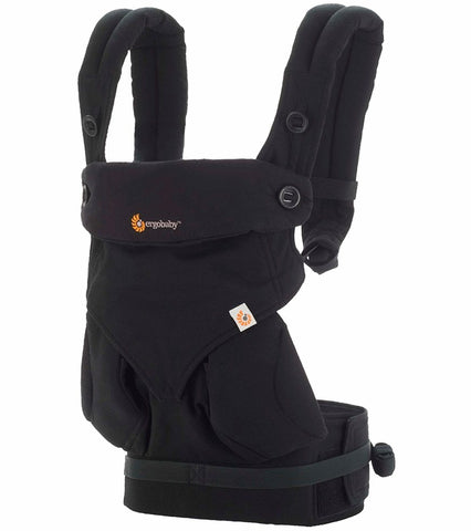 ErgoBaby 4 Position 360 Carrier-Pure Black