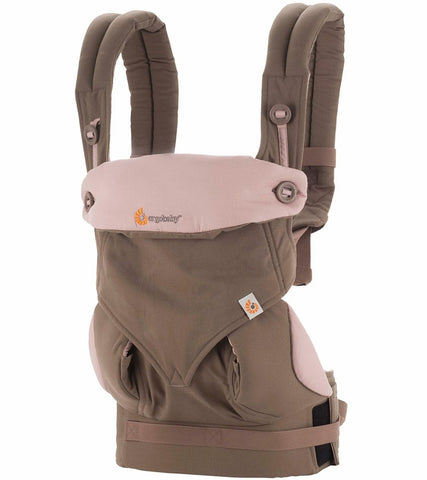 ErgoBaby 4 Position 360 Carrier-Taupe/Lilac