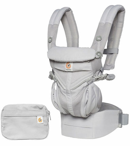 Ergobaby Omni Cool Air Mesh 360 Carrier - Pearl Grey