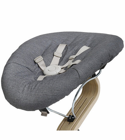 Nomi Baby Base 2.0 - Black with Gray Cushion