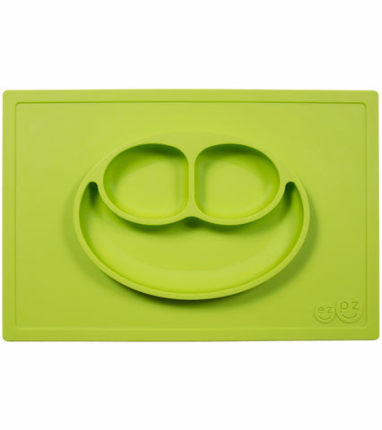EZPZ Happy Mat Placemat & Plate - Lime