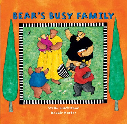 Barefoot Books Bear's Busy Family