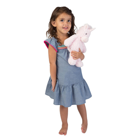 Manhattan Toys Adorables Petals Unicorn (Medium)