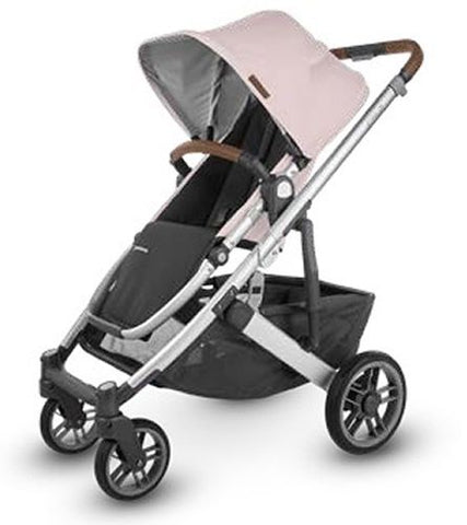 UPPAbaby 2020 Cruz V2 Stroller- Alice (Dusty Pink/Silver/Saddle Leather)