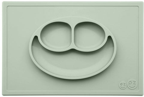 EZPZ Happy Mat Placemat & Plate - Sage