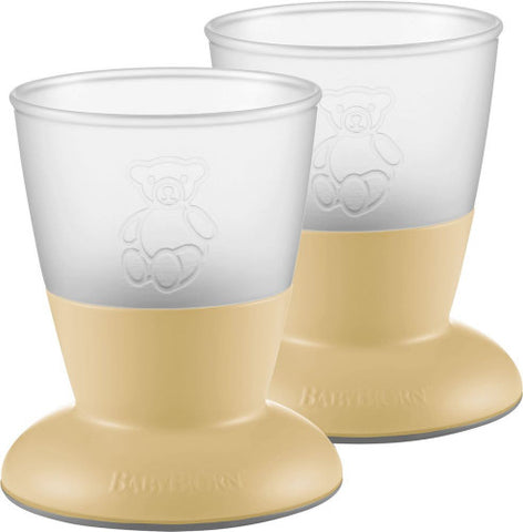 Baby Bjorn Baby Cup, 2-pack, Powder Yellow