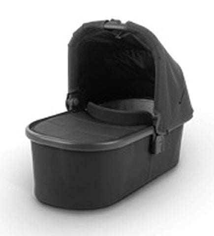 UPPAbaby 2020 Bassinet - Jake (Black/Carbon/Black Leather)