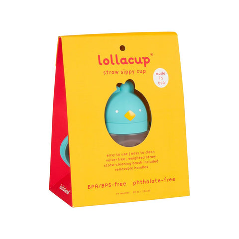 Lollaland Lollacup Infant & Toddler Straw Cup - Cool Turquiose