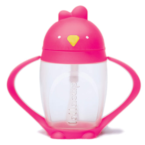 Lollaland Lollacup Infant & Toddler Straw Cup - Pink