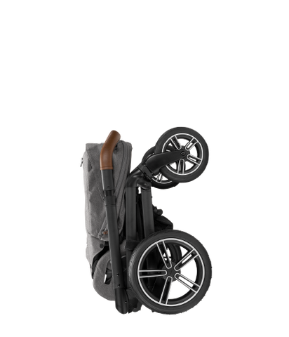 Nuna MIXX Next Stroller with Magnetic Buckle - Granite