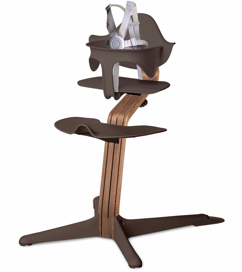 Nomi Highchair - Coffee/Walnut