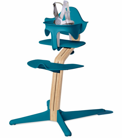 Nomi Highchair - Ocean/White Oak