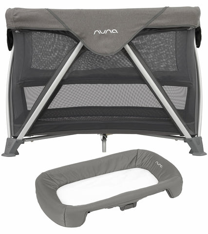 Nuna Sena Aire Playard & Changer - Granite