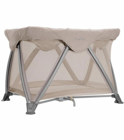 Nuna Sena Aire Playard with Organic Cotton Sheet - Champagne