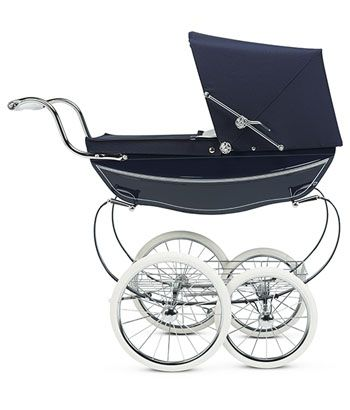 Silver Cross Doll Stroller - Navy