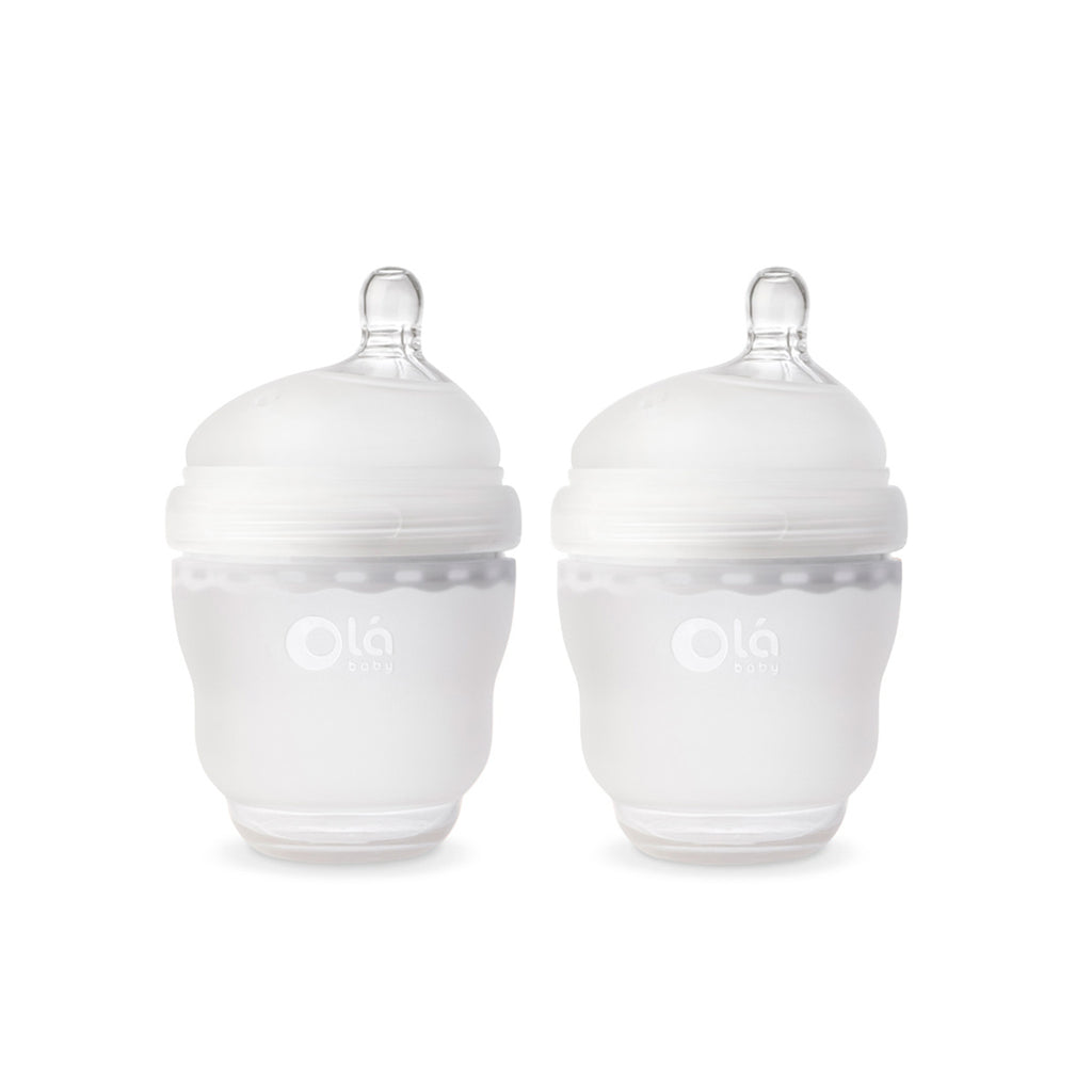 Olababy GentleBottle 4oz 2 Pack - Translucent