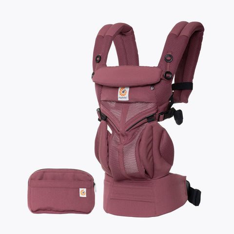 ErgoBaby 4 Position 360 Cool Air Carrier-Plum