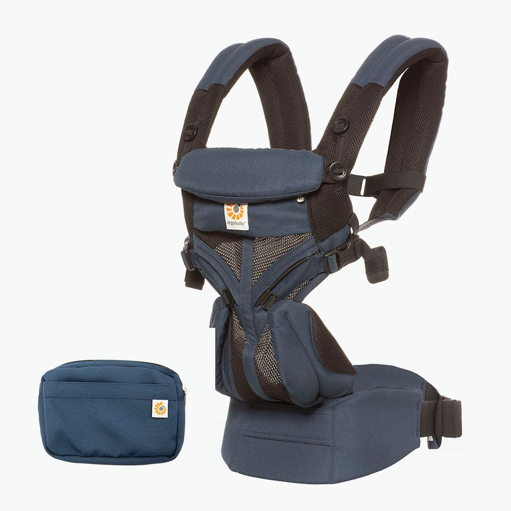 ErgoBaby 4 Position 360 Cool Air Carrier-Raven
