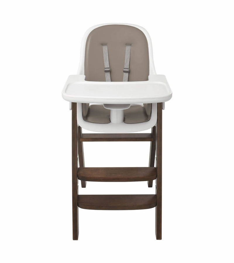 OXO Tot Sprout High Chair w/Extra Tray - Taupe/Walnut