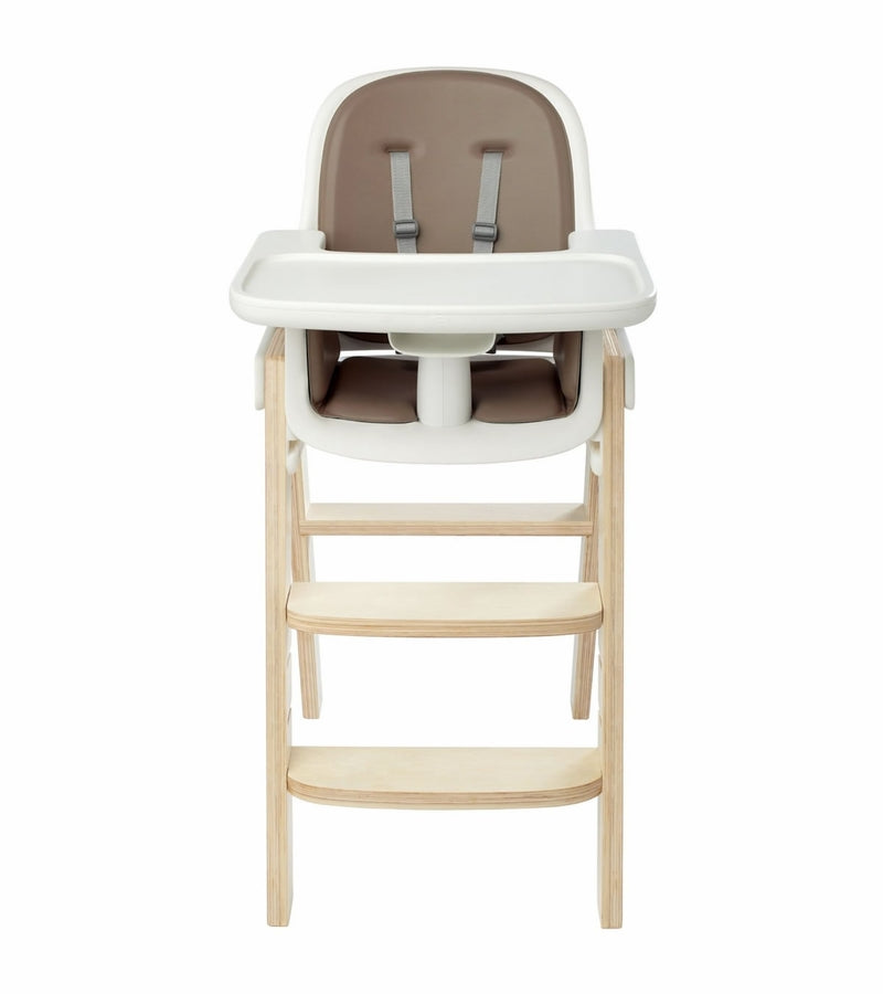 OXO Tot Sprout High Chair w/Extra Tray - Taupe/Birch