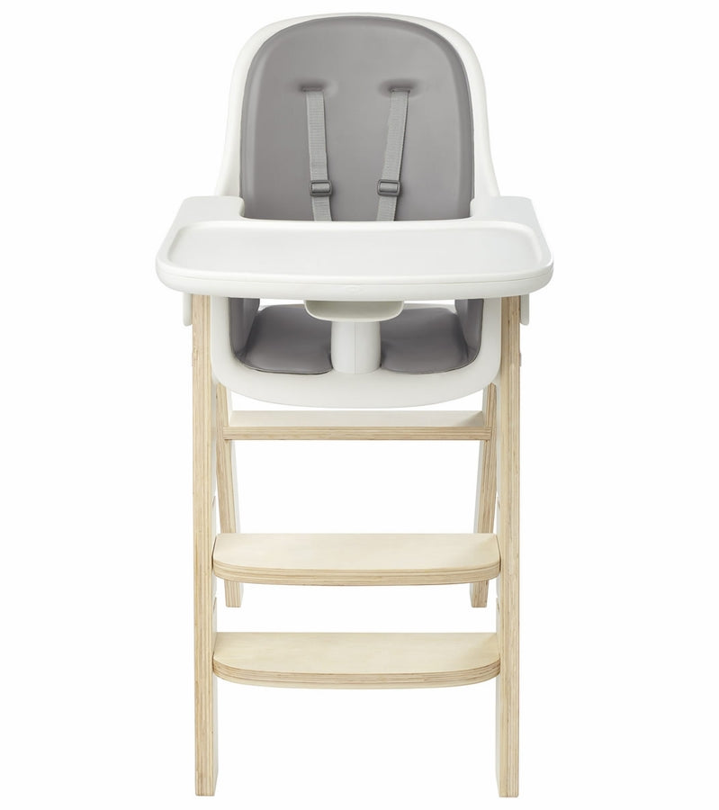 OXO Tot Sprout High Chair w/Extra Tray - Gray / Birch