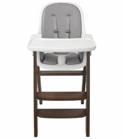 OXO Tot Sprout High Chair w/Extra Tray - Gray / Walnut
