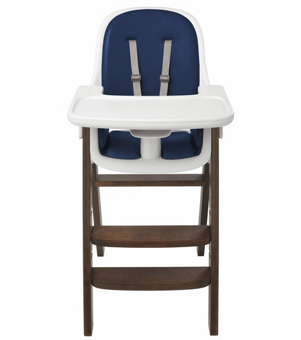 OXO Tot Sprout High Chair w/Extra Tray - Navy / Walnut