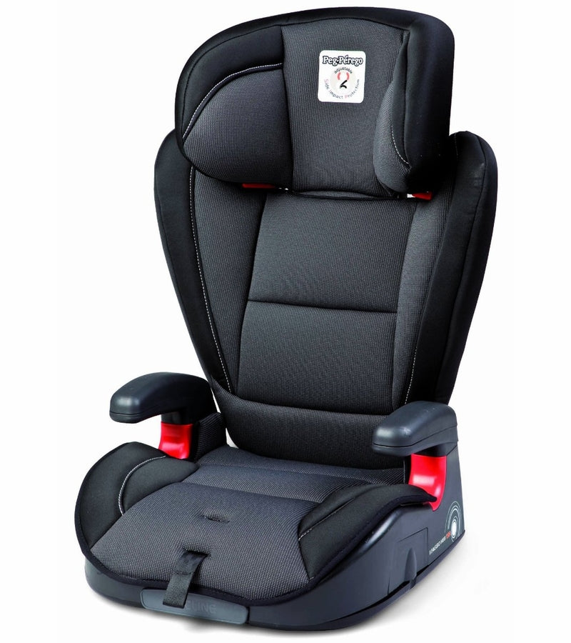 Peg Perego Viaggio HBB 120 Booster Car Seat-Crystal Black