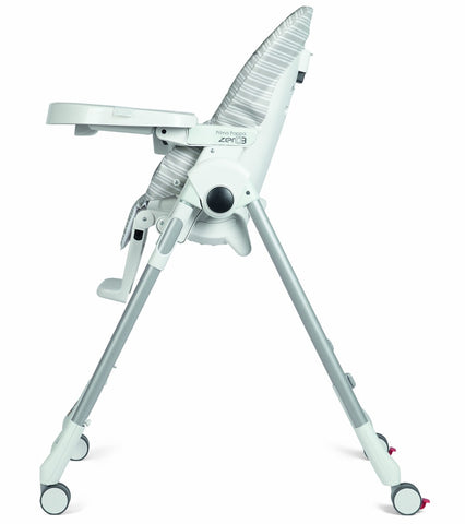 Peg Perego Prima Pappa Zero 3 High Chair - Linear Grey