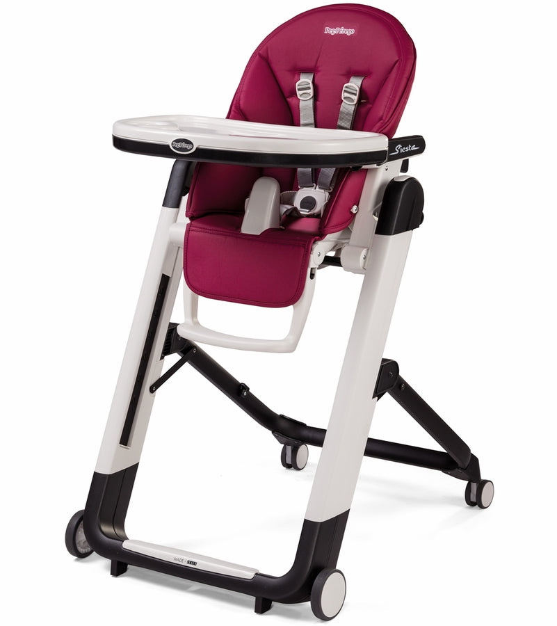 Peg Perego Siesta High Chair-Berry