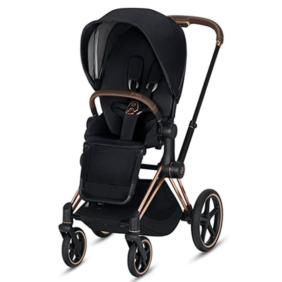 Cybex Priam Complete Stroller - Rose Gold/Premium Black