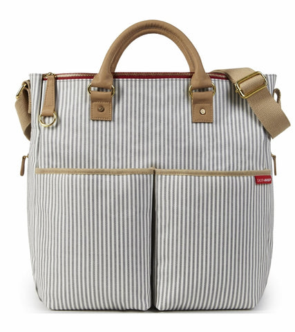 Skip Hop Duo Special Edition Diaper Bag - Limited Edition French Stripe
