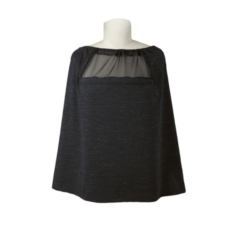 Skip Hop Hide & Chic Grab & Go Nursing Scarf-Black Heather