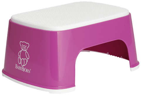Baby Bjorn Safe Step Stool - Pink - Traveling Tikes