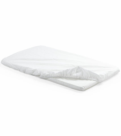 Stokke Home Cradle Fitted Sheet-Set of 2 - White