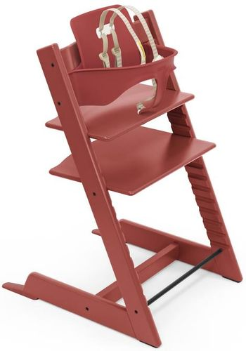 Stokke Tripp Trapp High Chair & Baby Set - Warm Red