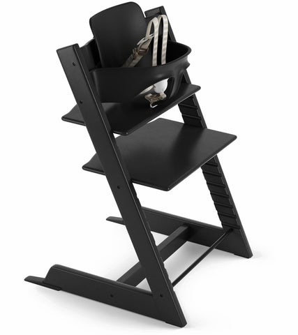 Stokke Tripp Trapp High Chair & Baby Set - Black